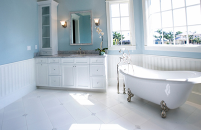 Before And After The Bathtub Refinishing Process